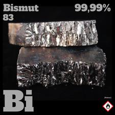 Bismut Metall  99,99% - Wismut 200 g - Bismuth metal pieces - Pure element Bi 83
