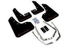 Rally Armor UR BLACK Mud Flaps w/ Red Logo Ford Focus ST & RS MF27-UR-BLK/RD