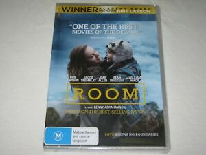 Room - Brie Larson - Brand New & Sealed - Region 4 - DVD