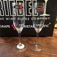 Riedel Champagne Glasses X 2