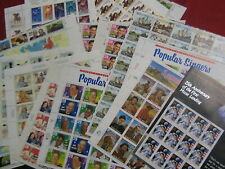 US stamp lot MNH sheets and booklets $148.48 face
