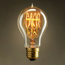 E27 40W Retro Edison Filament Bulb Dimmable Flame 220V Light Lamp