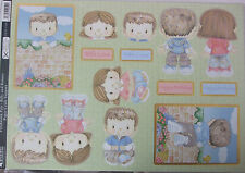 Kanban Paper Craft Toppers Patchwork Pals Billy and Bonnie Die-cuts