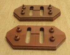 2 x Märklin H0 7065 piliers de ponts 6 mm en bon état pas Faussée