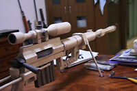 CheyTac Intervention M-200 Heavy Sniper Rifle Gun DIY Paper Model Kit 1:1 Scale