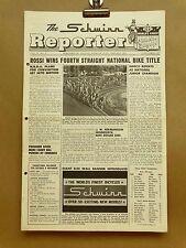 Vintage Schwinn Reporter Bicycle Dealer Newsletter Sep 1962 Wall Banner Buddy