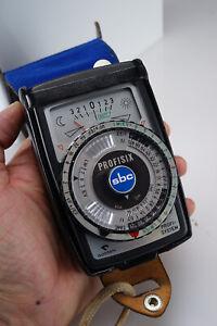 Vintage Gossen Profisix SBC Ambient & Flash Light Meter with Case Lunasix