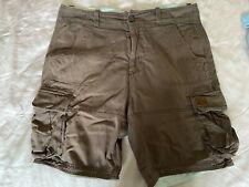 Animal Mens Cargo Shorts - Size 34 - 36 Large - Brown