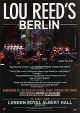 LOU REED - 2008 TOUR FLYER - RARE LIVE LONDON CONCERT BERLIN GENUINE MUSIC PROMO