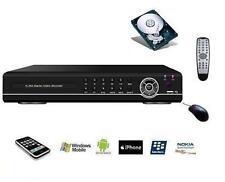 Enregistreur vidéosurveillance 8 camétras ana ou IP, DVR / NVR 1080P ONVIF