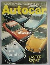 Autocar magazine 10/4/1969 featuring Alfa Romeo test, MG Midget,Triumph Spitfire