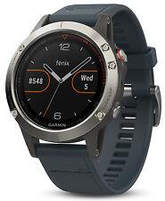 New Garmin Fenix 5 Premium Multisport GPS Fitness Watch w/ Wrist HR Monitor 47mm