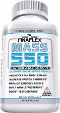 FINAFLEX MASS 550 (60 CAPSULES) lean muscle anabolic matrix test booster