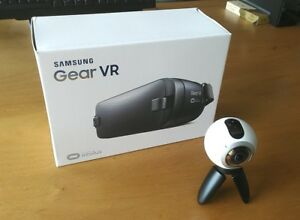Samsung Gear VR headset + Gear 360 camera set