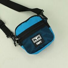 OBEY Conditions Traveler Festival Tote Essentials Side Bag Brand New in Blue