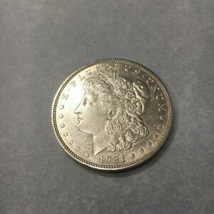 1 $ USA / Amerika Morgan-Dollar 1921 D Silber