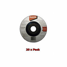 """MAKITA 115mm 4 1/2"""" THICK GRINDER DISCS - 20 x PACK - NEW"""