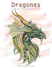 Dragones: Dragones Libro para Colorear para Adultos 1 And 2 by Nick Snels...