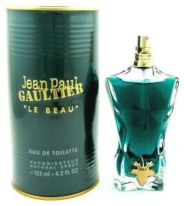 Jean Paul Gaultier Le Beau Cologne 4.2 oz. / 125 ml. EDT Spray New in Box