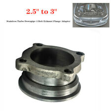 "2.5"" to 3"" Stainless Steel  Car Turbo Downpipe 4 Bolt Exhaust Flange Adapter"