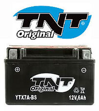 Batterie YTX7A-BS YTX7ABS quad SMC Blast KYMCO Zing 125 (pack complet)