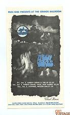 Grande Ballroom Postcard 1969 Jan 3 Amboy Dukes Up Stooges Frozen Sun