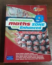 Heinemann Maths Zone 9 Vels Enhanced, with cd, good condition. very clean inside