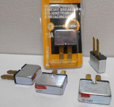 Lot of 5 New Littelfuse 10 Amp 12 Volt 12V Auto Reset Circuit Breaker