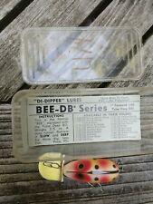 Rare The Bee Spotted Ape Db Series Di Dipper Fishing Lure Tulsa Deep Bill Ok Box