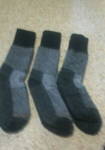 3- Pair Men's Carhartt Extreme Cold weather Boot Socks-Size Large -