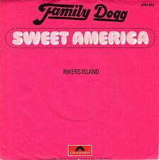 "7"" Family Dogg (Albert Hammond / Ireen Scheer) – Sweet America // Germany 1972"