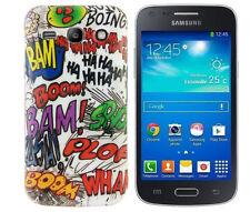 Hülle f Samsung Galaxy Advance G350E Schutzhülle Tasche Case Cover TPU Comic