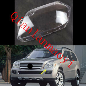 Left Side Lucency Headlight Cover With Glue For Mercedes-Benz W163 GL 2006-2012