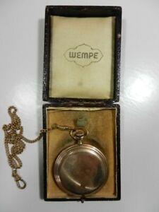 Taschenuhr WEMPE Edition Junghans - 370 139 im Originaletui