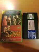 Albino Alligator VHS 1996 Thriller Kevin Spacey Matt Dillon Triumph Large Case.