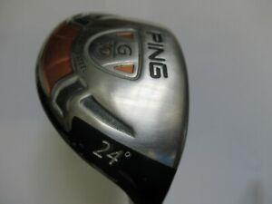 Ping G10 R/H 24 Degree Hybrid With Ping TFC129 Soft Regular Shaft