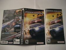 "Ridge Racers Sony PSP Cover Art and Manual only ""Authentic"""