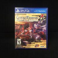Samurai Warriors 4  (Sony PlayStation 4, 2014) Brand New / Region Free