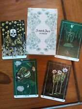 Jonasa Jaus Tarot Full Deck Of 78 Cards Sold Out Fifth Edition New Colours Flora