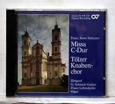 GERHARD-SCHMIDT-GADEN, ULRIKE SCHAFER - SCHNIZER Missa C-Dur CARUS CD NM