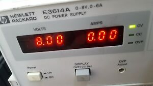 HP/AGILENT E3614A  Power Supply. Fedex or Tracked shipping