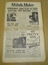 MELODY MAKER 1952 DECEMBER 6 JOHNNY DANKWORTH COCONUT GROVE BBC GLENN MILLER