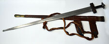 A very good old Takouba sword great blade, sword of the Tuareg c 1850s