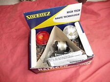 Vélo Vintage ,NOS complete bicycle lighting set SOUBITEZ HALOGEN , french parts