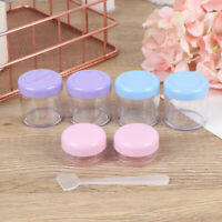 Travel Cosmetic Empty Jar Pot Cream Balm Eyeshadow Makeup Container Bottle Boxxj