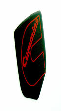 DODGE RAM DIESEL GRILLE EMBLEM 2006-2010  Black/RED Outline