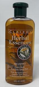 Vintage Clairol Herbal Essences Shampoo 90s Smells Great! 12oz MARIGOLD FLOWERS