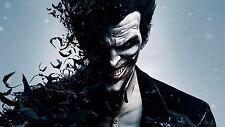 Batman Arkham Origins Video Game Promotional Posters and Window Cling Joker DC