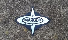 BMC Mini MK1 Cooper S MARCOS NOS Badge RARA Supercharger MPI 1380 RACE meno Med