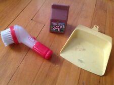 VtG Little Tikes Chocolate Milk + Cleaning Set Dust Pan + Scrub Brush SET *WoW*